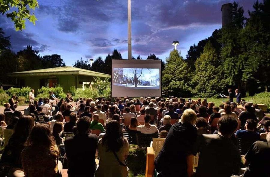 Cinema all'aperto drive in Trento Trentino