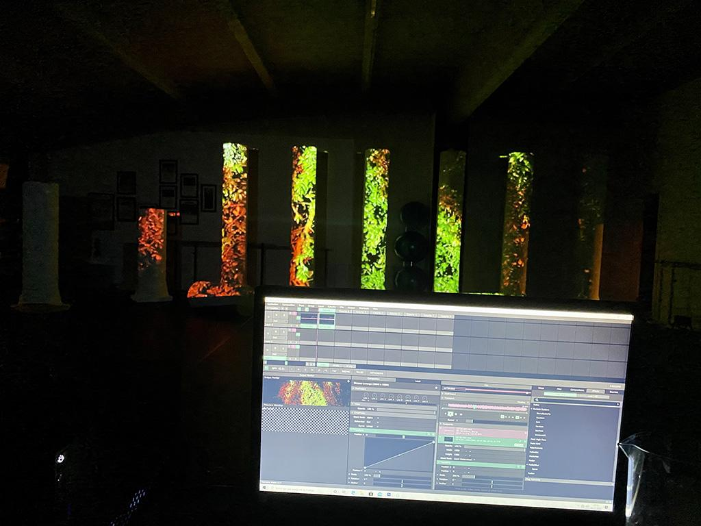 Videomapping video mapping Trento